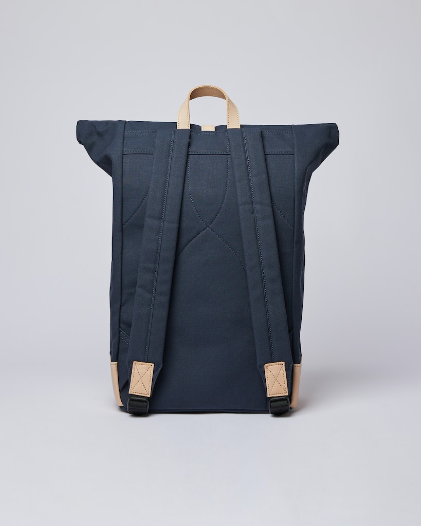 Sandqvist - Backpack - Navy and Beige - DANTE GRAND 1