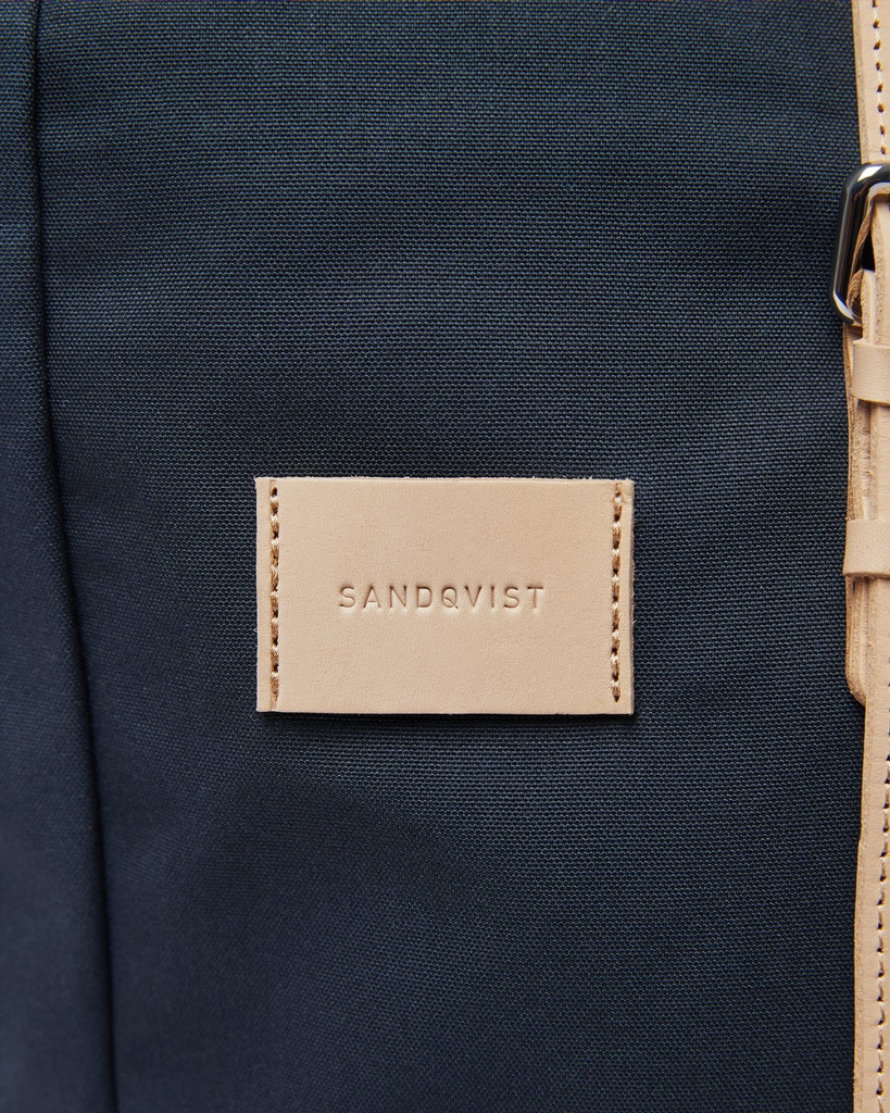 Sandqvist - Backpack - Navy and Beige - DANTE GRAND 2