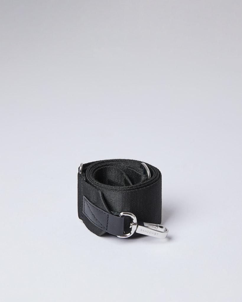 Sandqvist - Shoulder Strap - Black - ADJUSTABLE SHOULDER STRAP