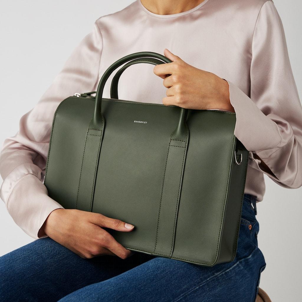 Sandqvist Alice  - Leather shoulder bag perfect for work 2