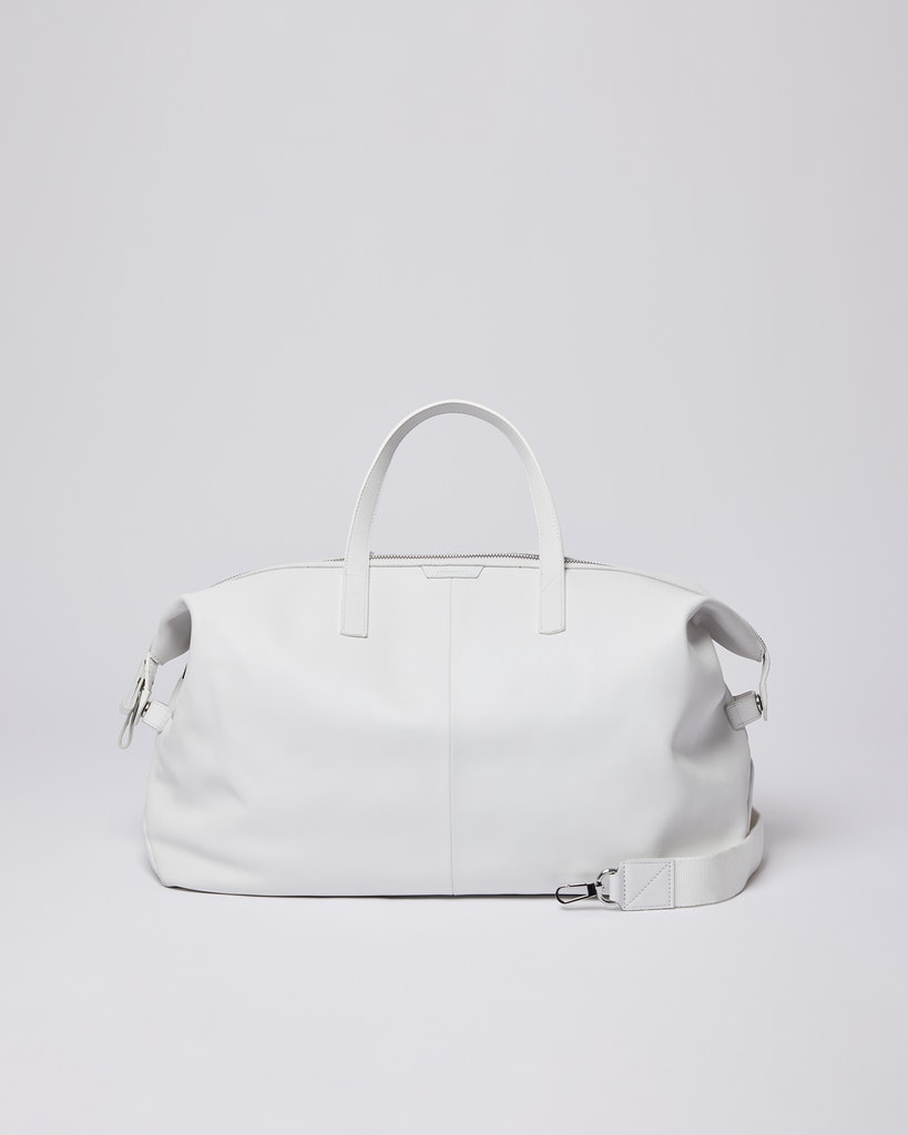 Sandqvist - Weekend Bag - White - HOLLY LEATHER