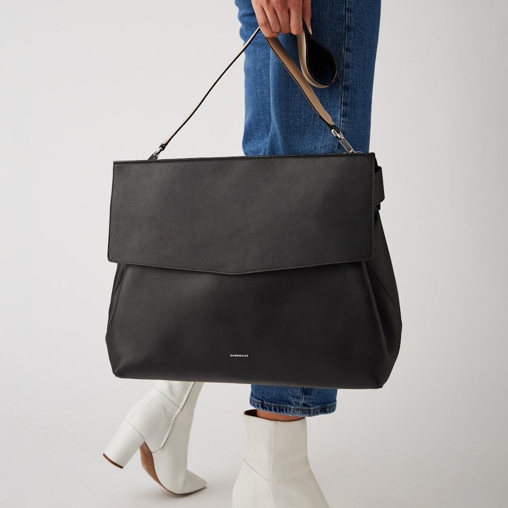 Sandqvist - Shoulder Bag - Black - INES 2