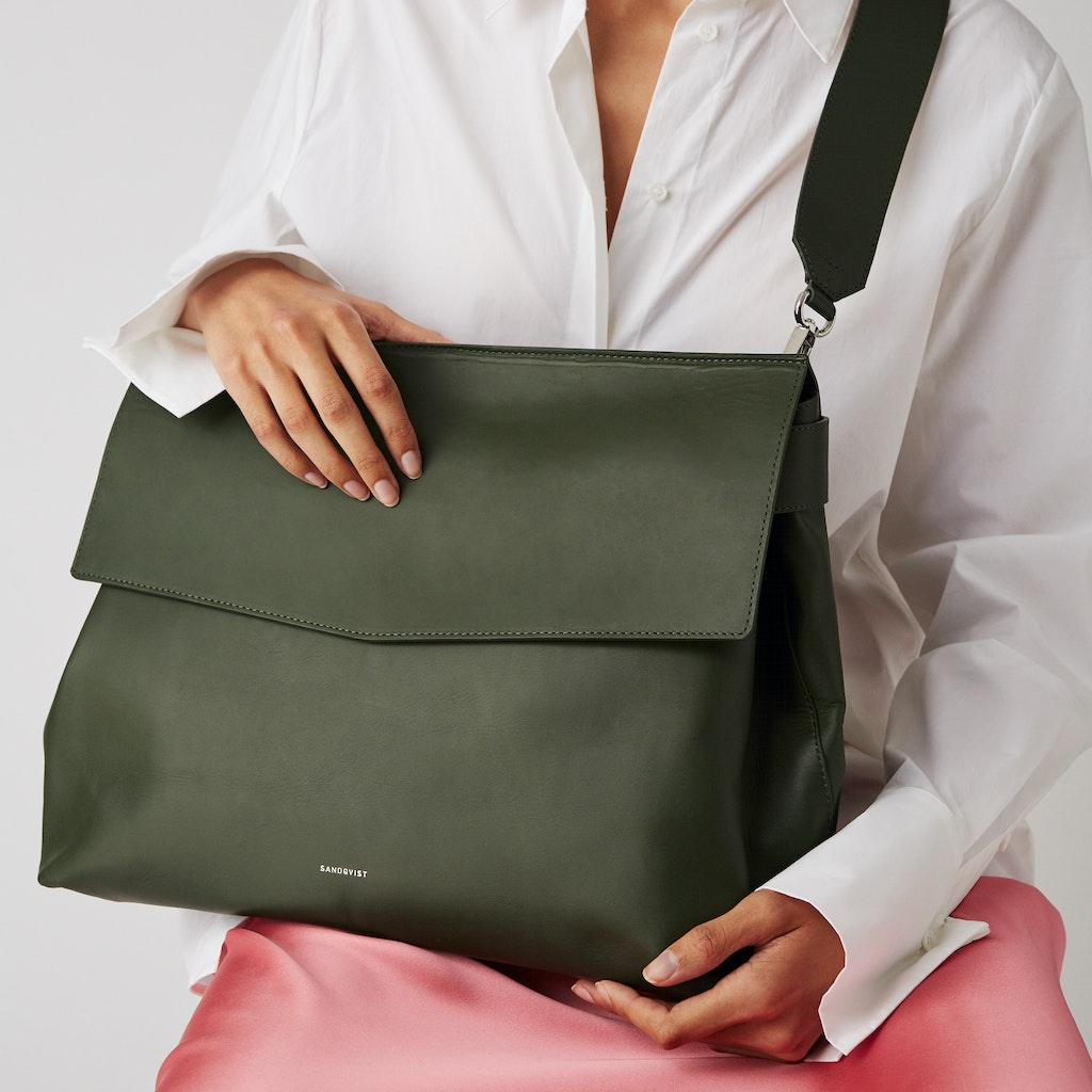 Sandqvist - Shoulder Bag - Green - INES 6