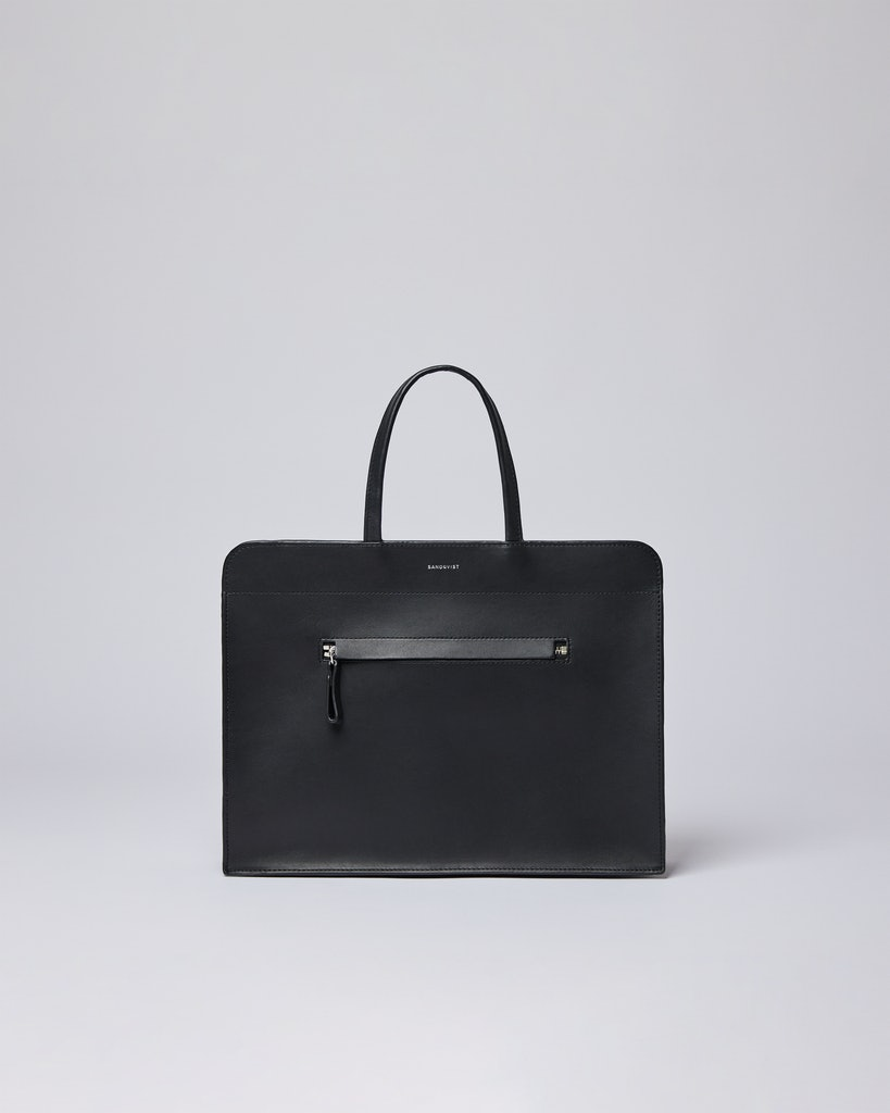 Sandqvist - Tote Bag - Black - STINA