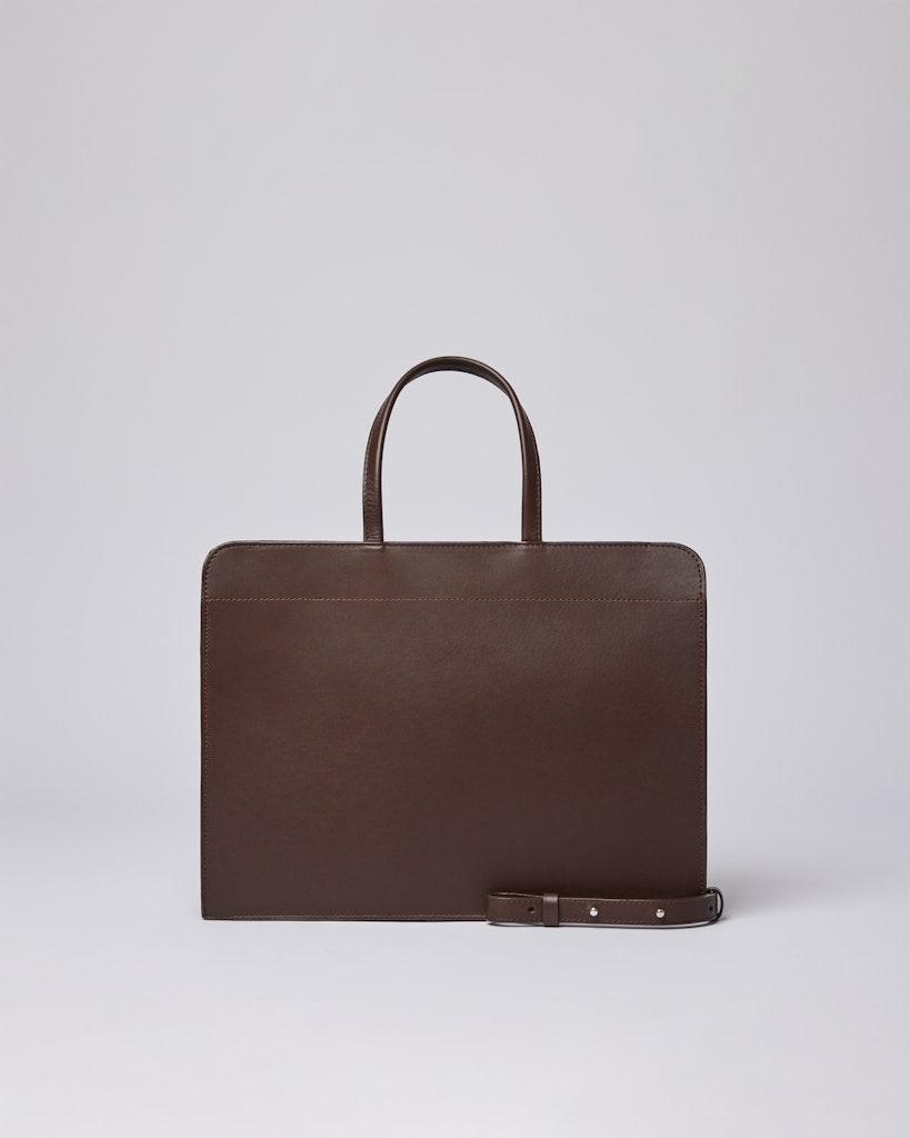 Sandqvist - Tote Bag - Brown - STINA  1