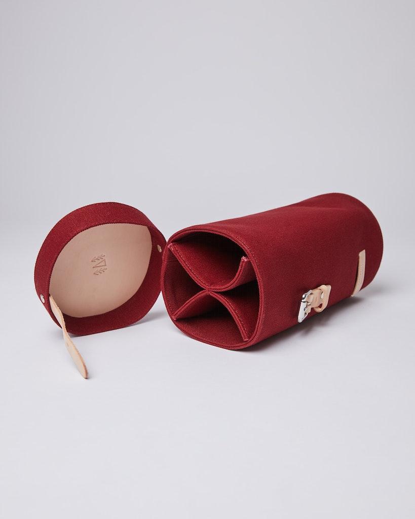 Sandqvist - Cylinder Bag - Red - GESUNDA 1