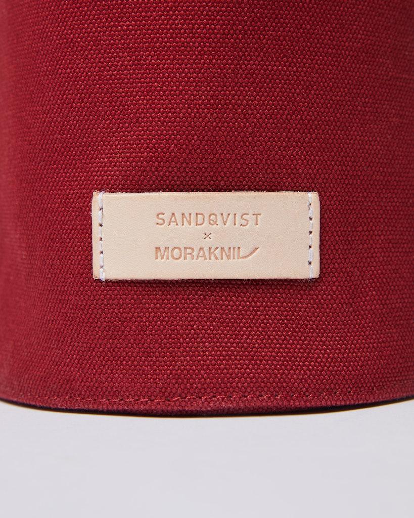 Sandqvist - Cylinder Bag - Red - GESUNDA 3