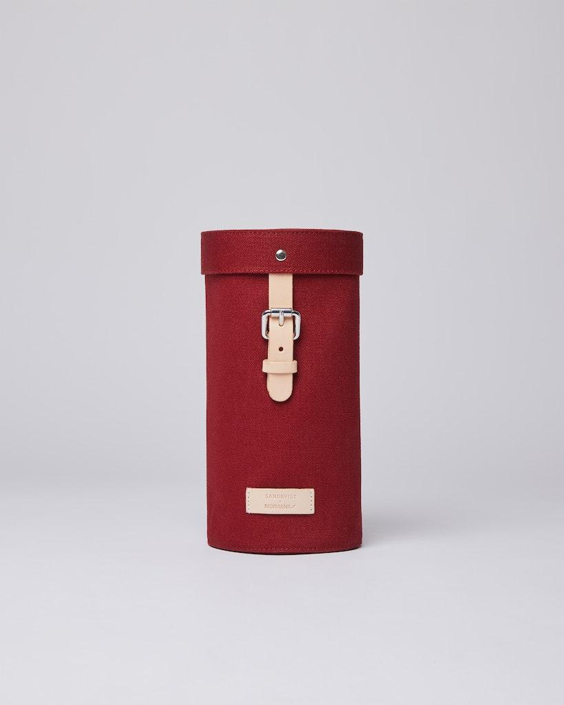 Sandqvist - Cylinder Bag - Red - GESUNDA