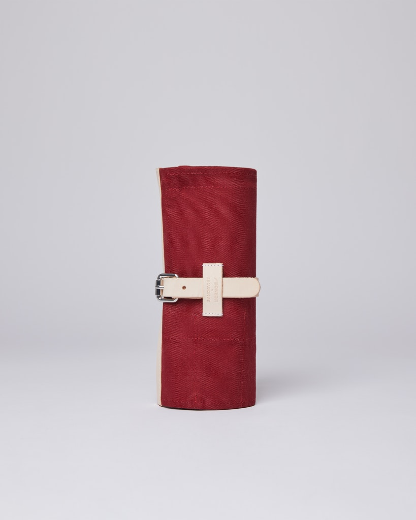 Sandqvist - Knife Roll - Röd - LAJTJENN 2
