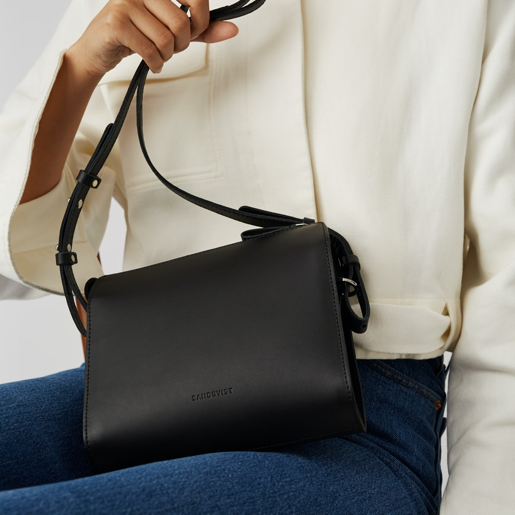 Sandqvist - Shoulder Bag - Black - FRANCES 4