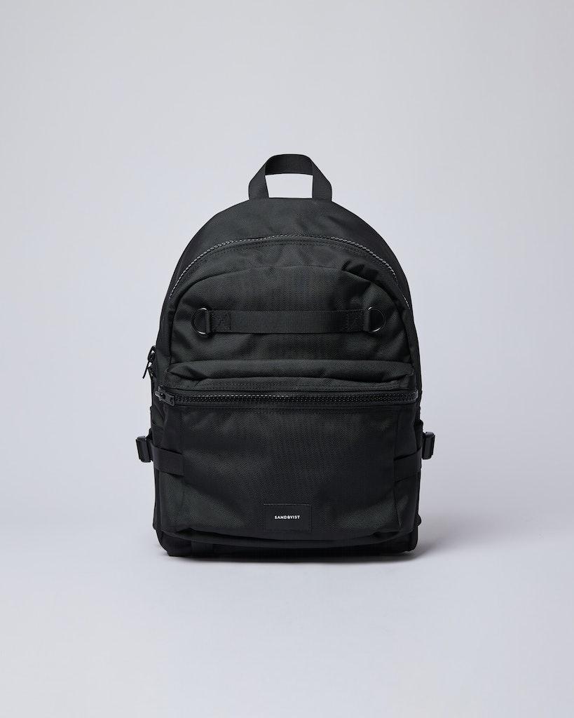 Sandqvist - Backpack - Black - ELTON