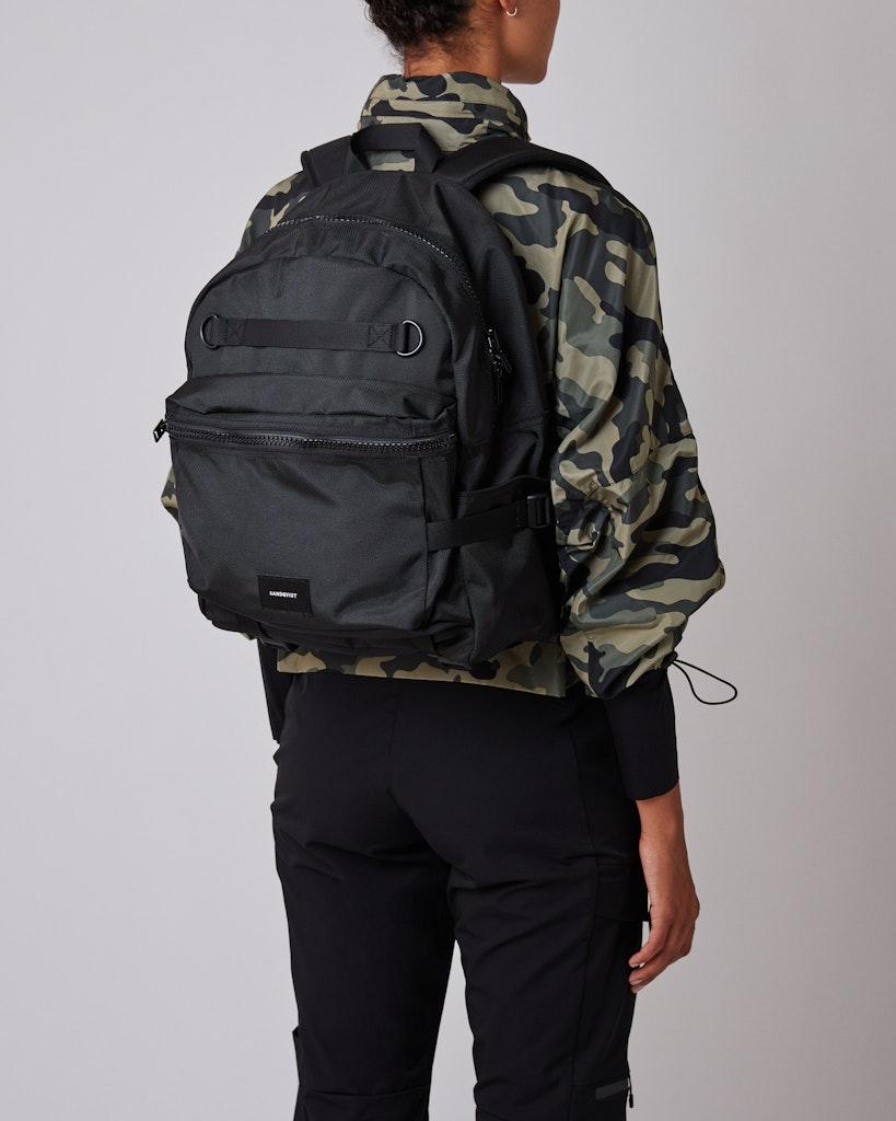 Sandqvist - Backpack - Black - ELTON 2
