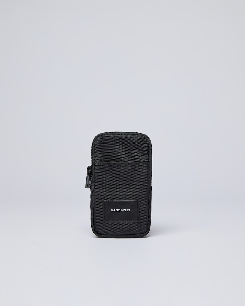 Sandqvist - Phone pouch - Black - WILLMER