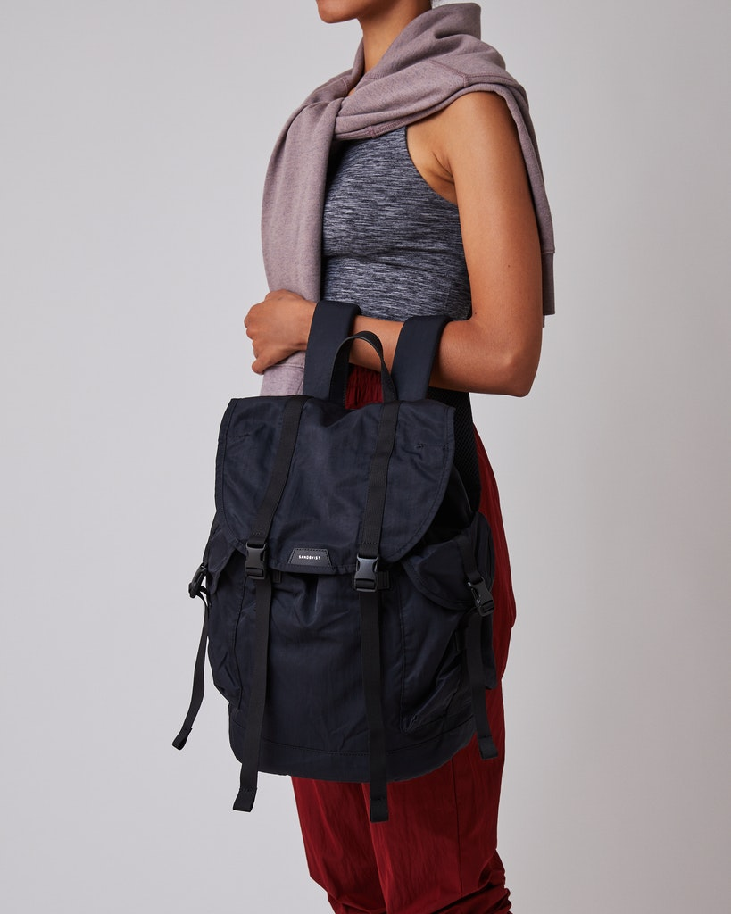 Sandqvist - Backpack - Black - CHARLIE 2