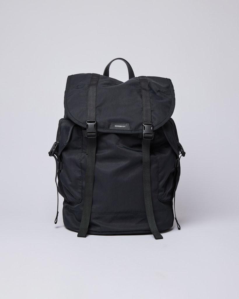 Sandqvist - Backpack - Black - CHARLIE