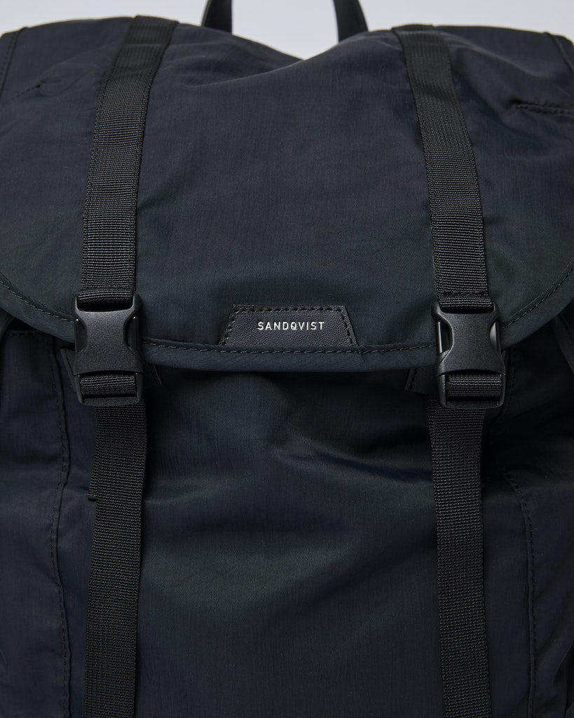Sandqvist - Backpack - Black - CHARLIE 1