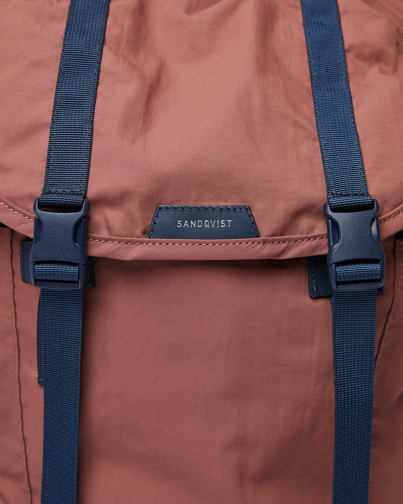 Sandqvist - Backpack - Red - CHARLIE 2