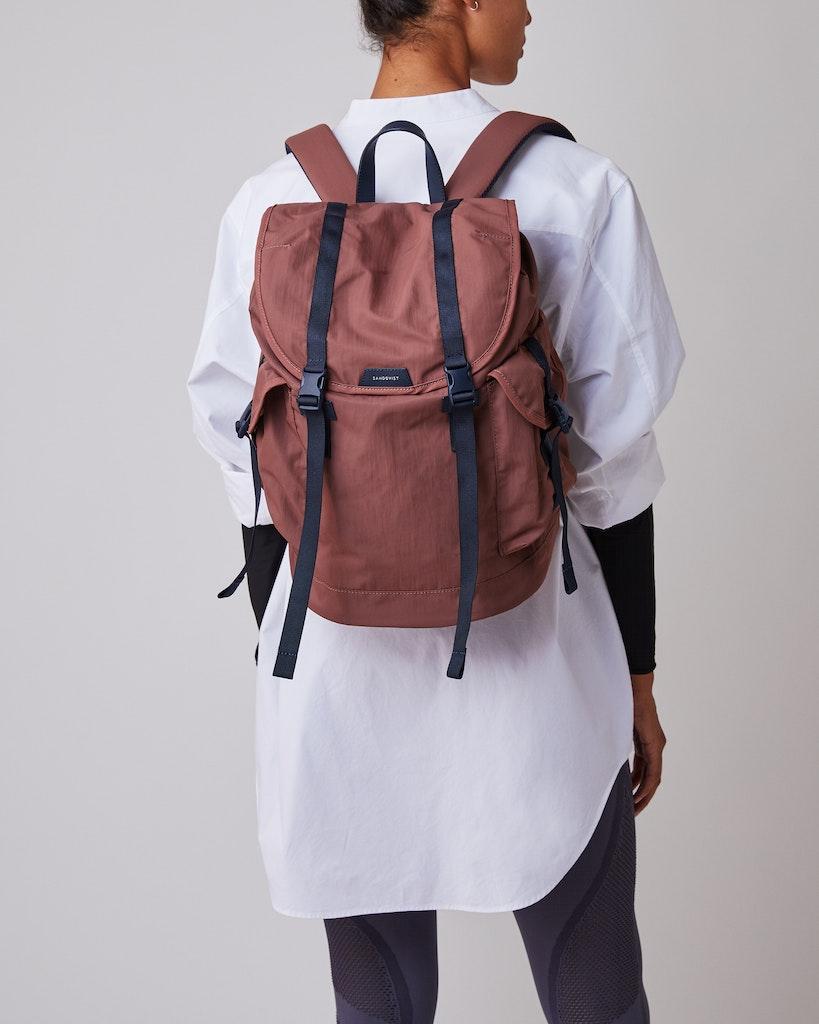 Sandqvist - Backpack - Red - CHARLIE 6
