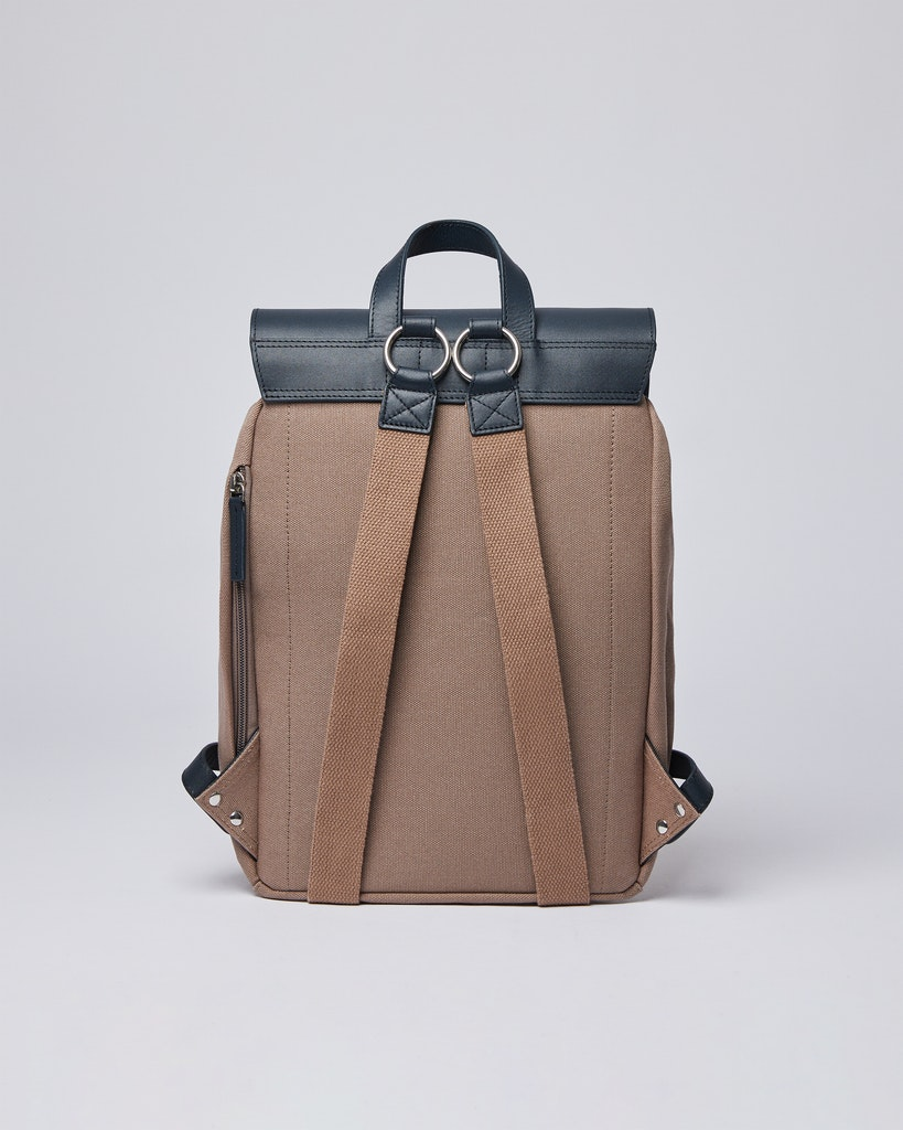 Sandqvist - Backpack - Brown and Navy - ALVA 2
