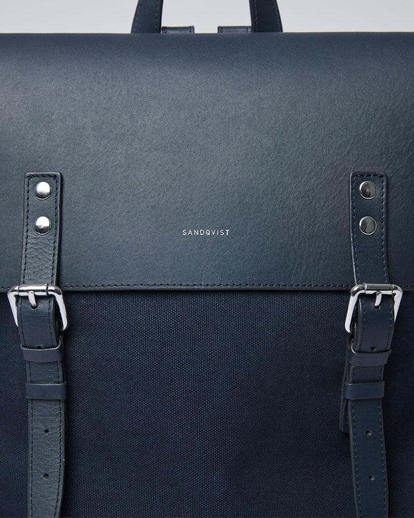 Sandqvist - Backpack - Navy - HEGE 1