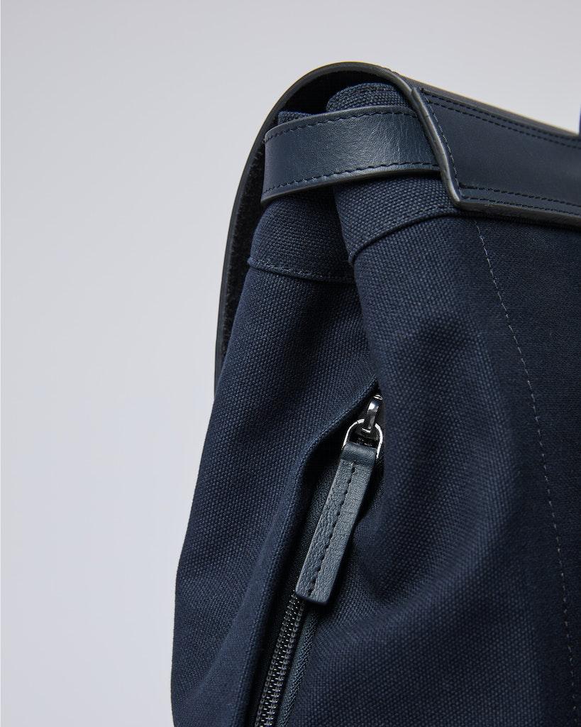 Sandqvist - Backpack - Navy - HEGE 4