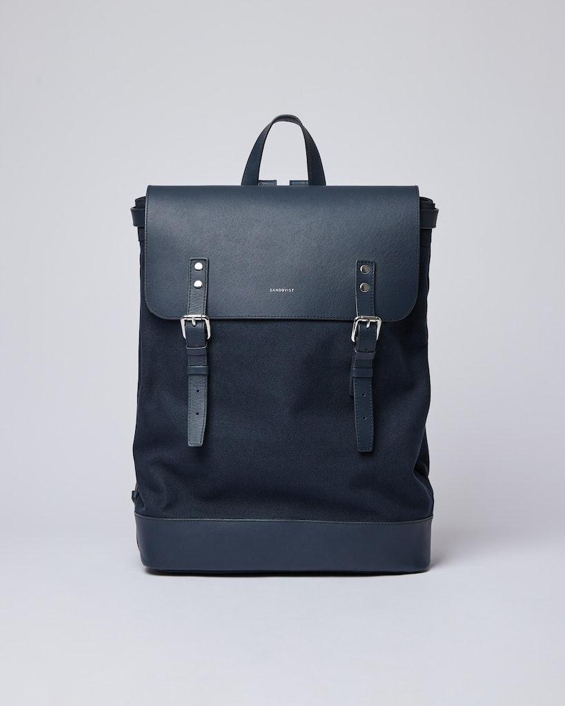 Sandqvist - Backpack - Navy - HEGE