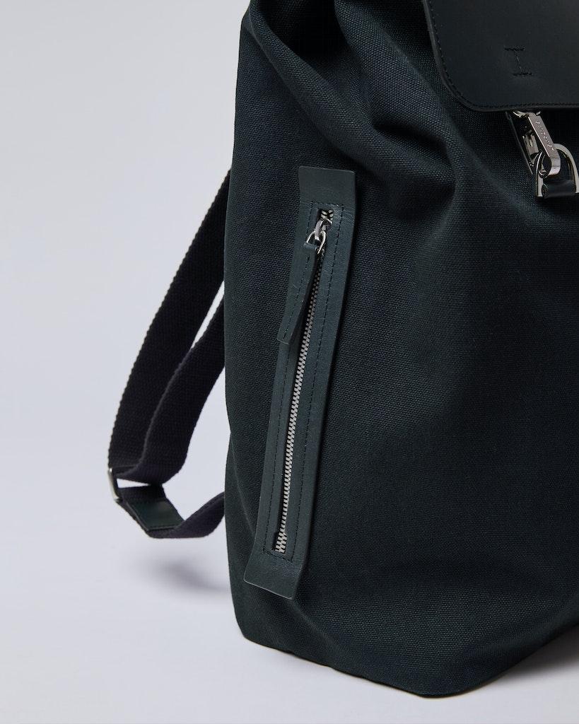 Sandqvist - Backpack - Black - HEGE METAL HOOK 5