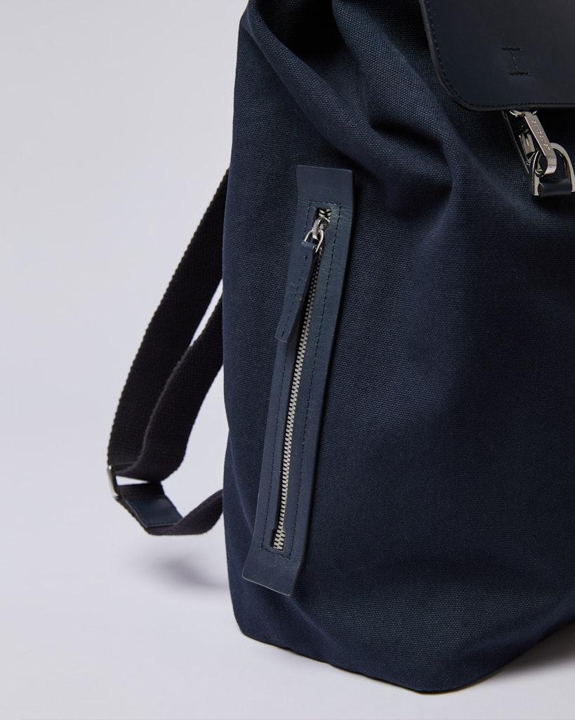 Sandqvist - Backpack - Navy - HEGE METAL HOOK 4