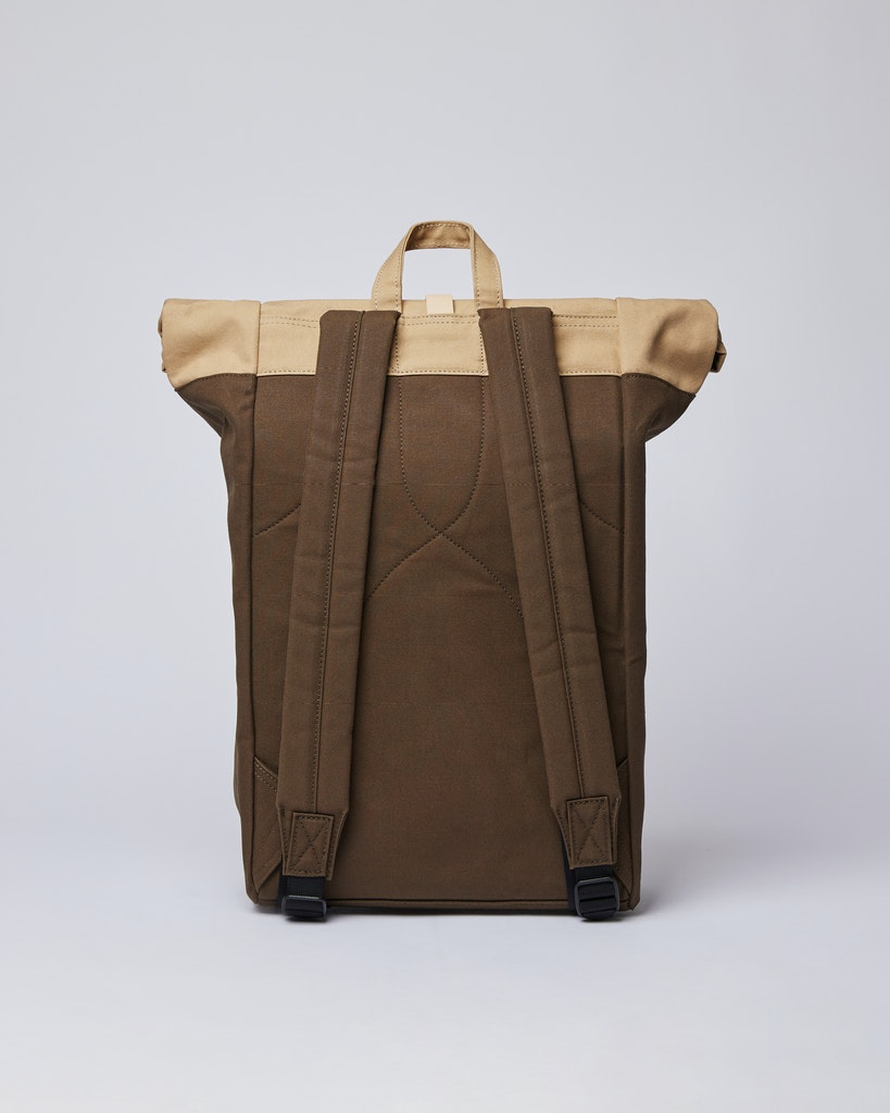 Sandqvist - Backpack - Beige and Green - DANTE 3