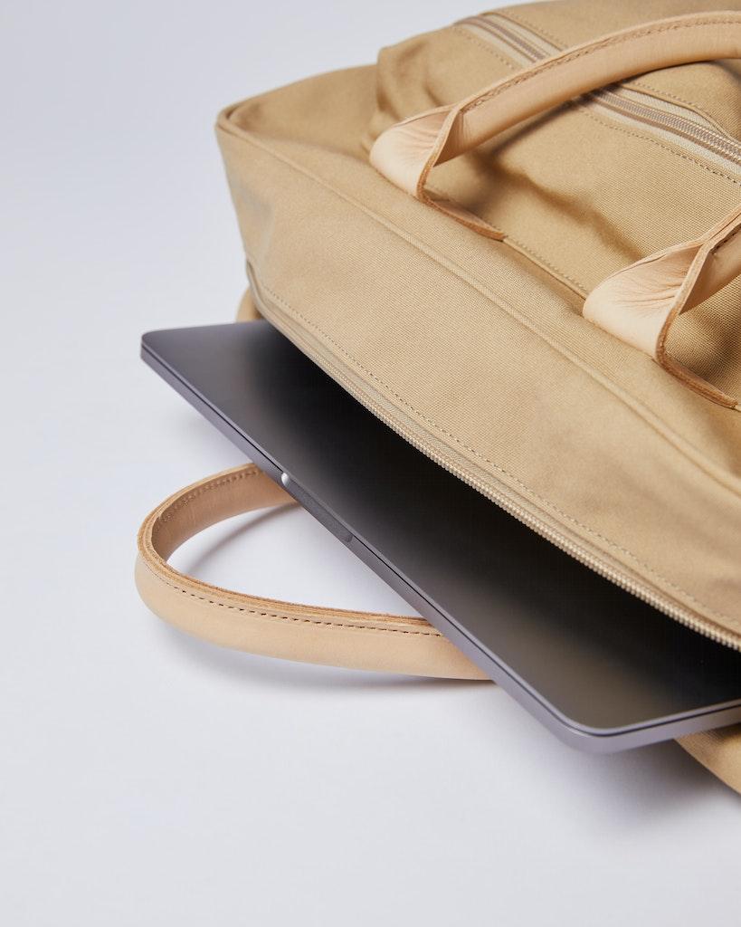 Sandqvist - Briefcase - Beige - EMIL 6