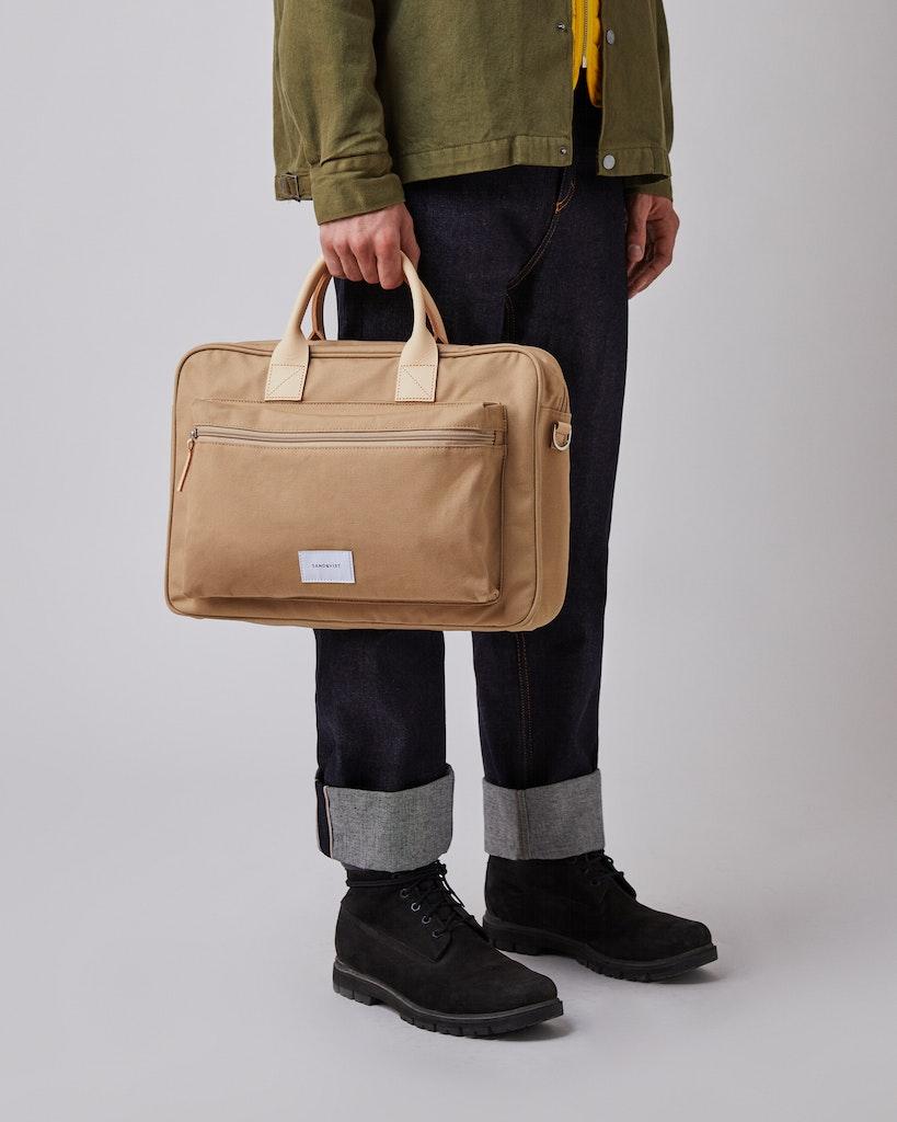 Sandqvist - Briefcase - Beige - EMIL 2