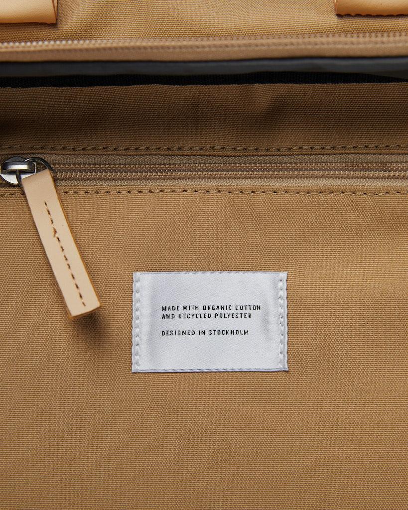 Sandqvist - Briefcase - Beige and Yellow - EMIL 4