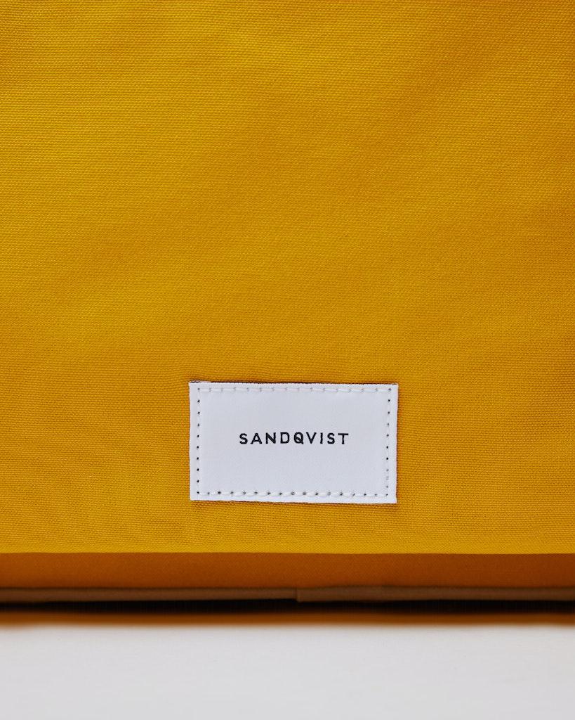Sandqvist - Briefcase - Beige and Yellow - EMIL 1