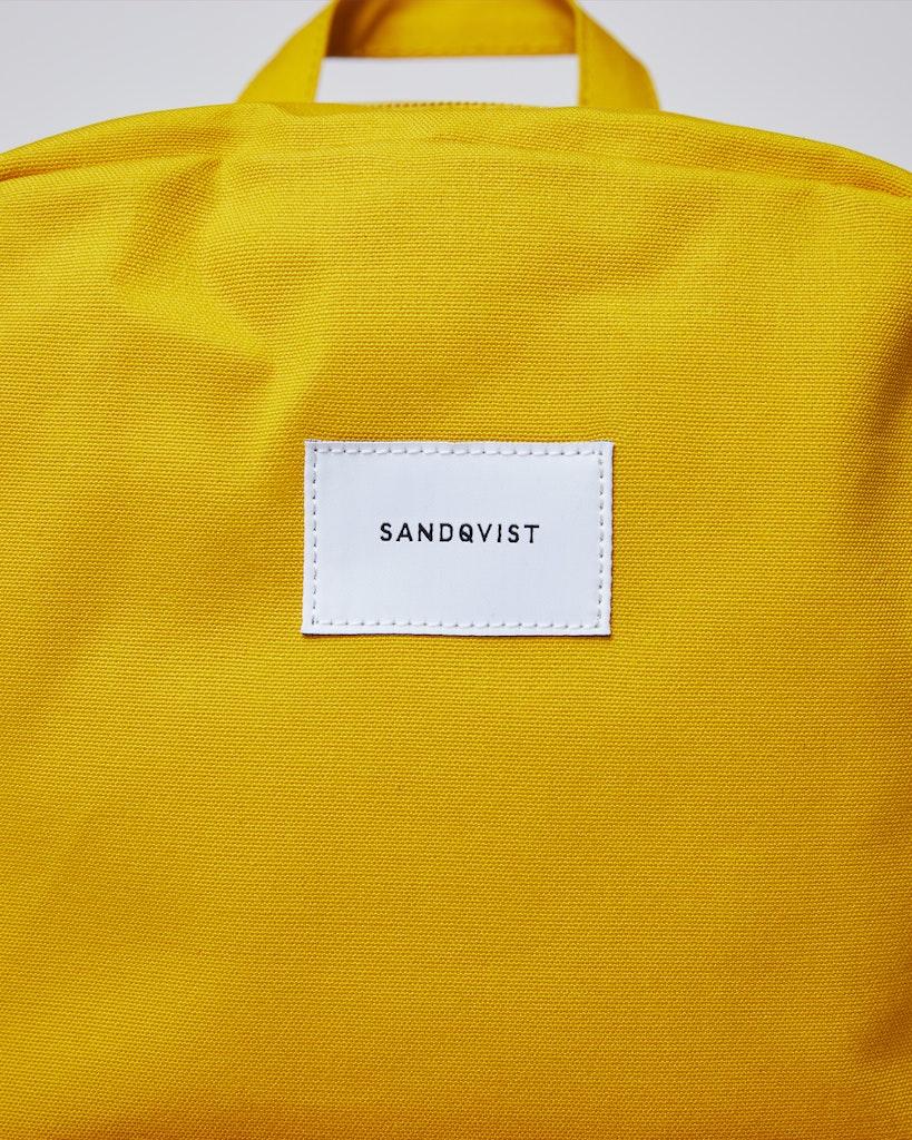 Sandqvist - Backpack - Beige and Yellow - KIM 2