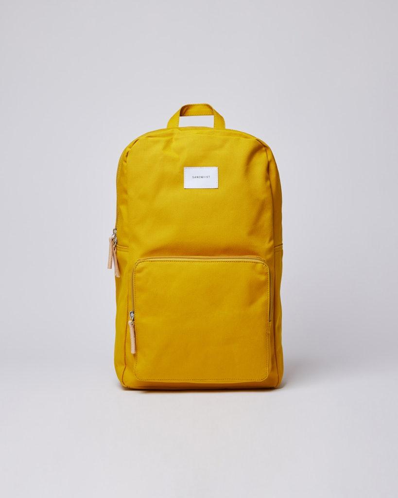Sandqvist - Backpack - Beige and Yellow - KIM