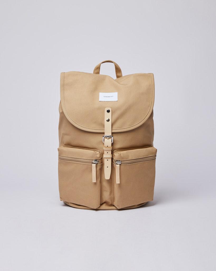 Sandqvist - Backpack - Beige - ROALD