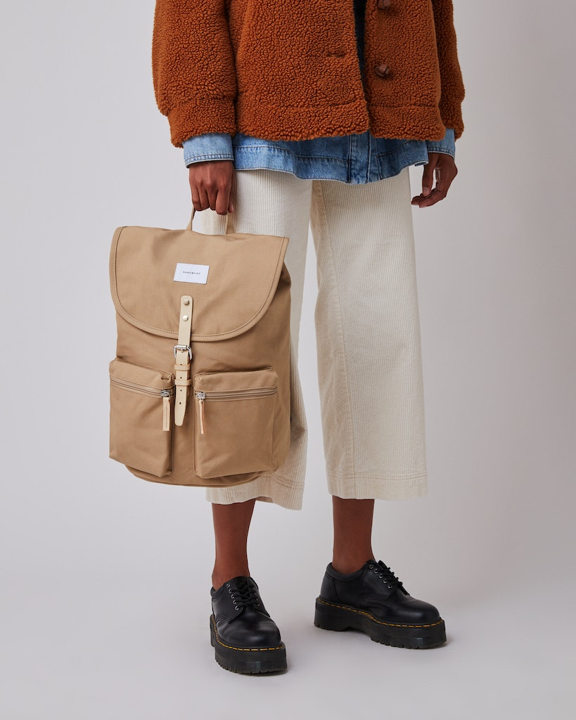 Sandqvist - Backpack - Beige - ROALD 2