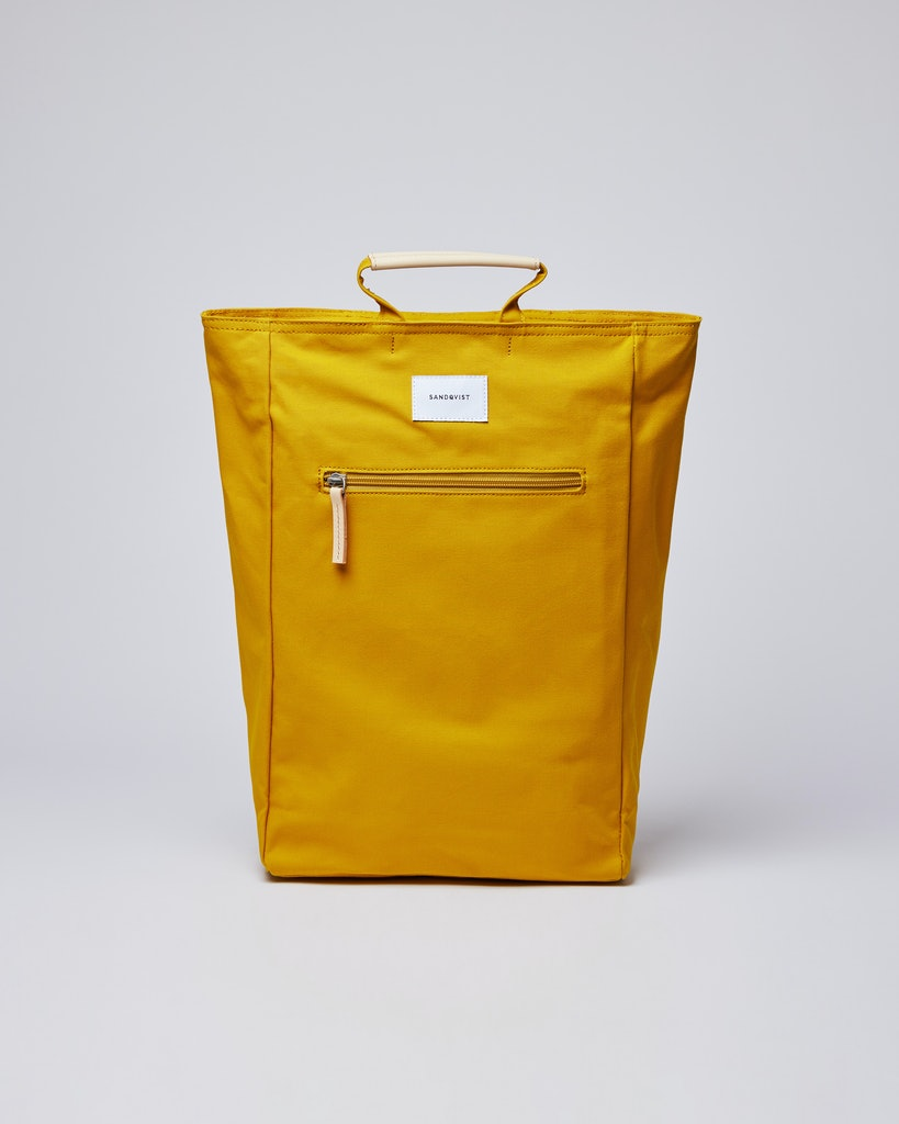 Sandqvist - Backpack - Yellow - TONY