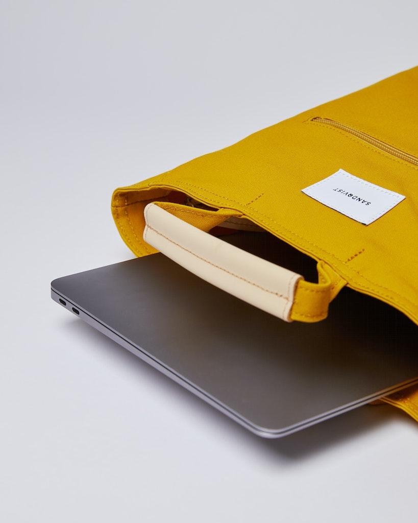 Sandqvist - Backpack - Yellow - TONY 3