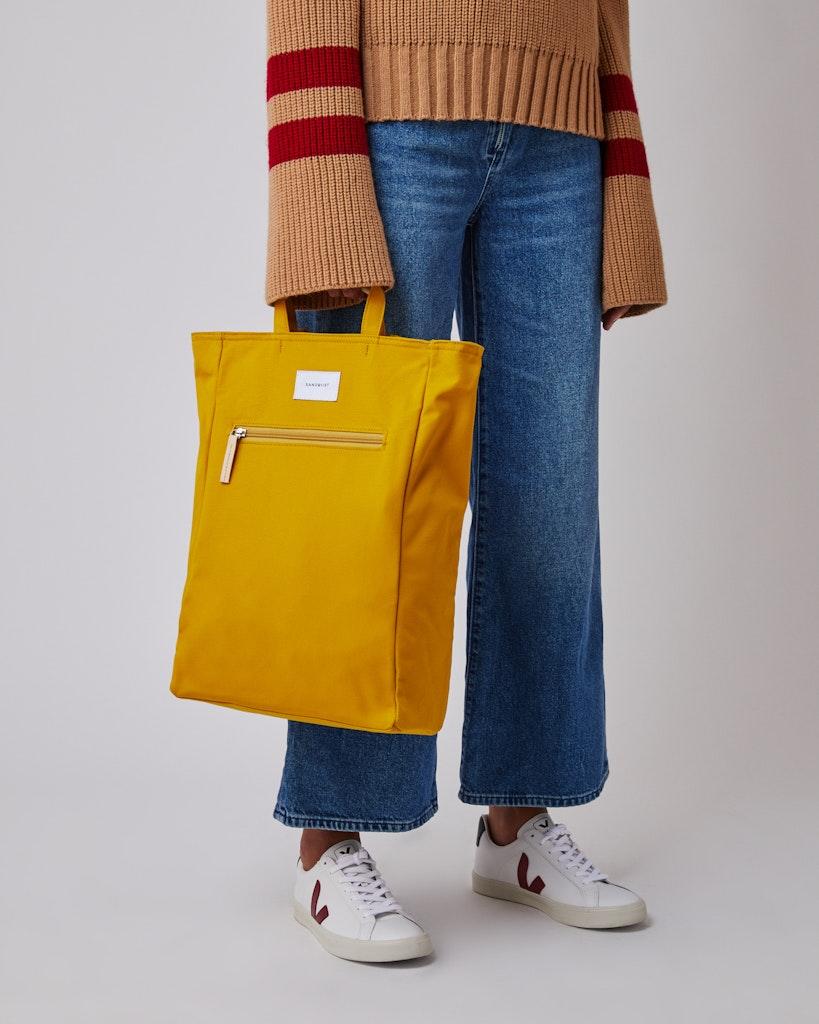 Sandqvist - Backpack - Yellow - TONY 4