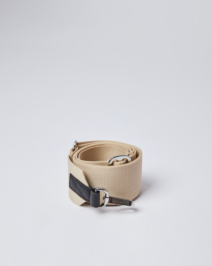 Sandqvist - Axelrem - Beige - ADJUSTABLE SHOULDER STRAP