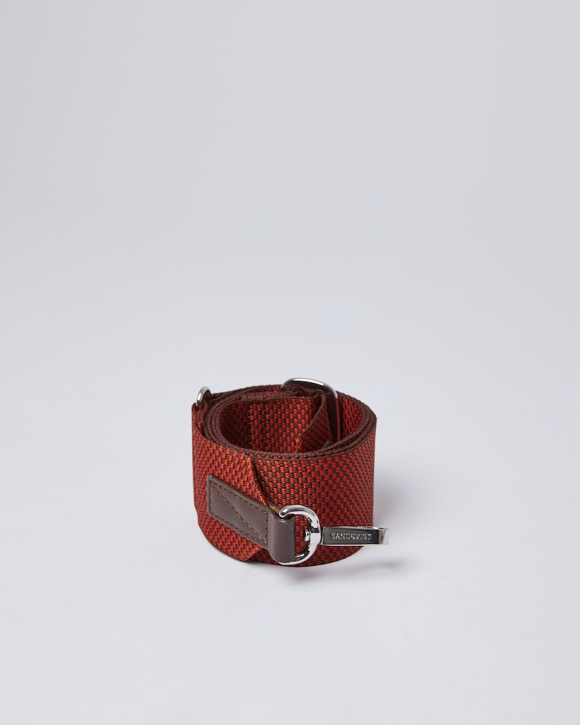 Sandqvist - Shoulder Strap - Red - ADJUSTABLE SHOULDER STRAP