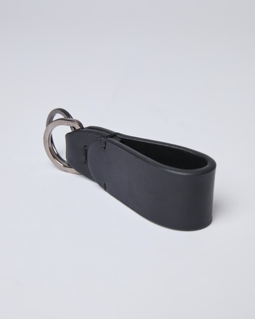 Sandqvist - Key Ring - Black - JOEL 4