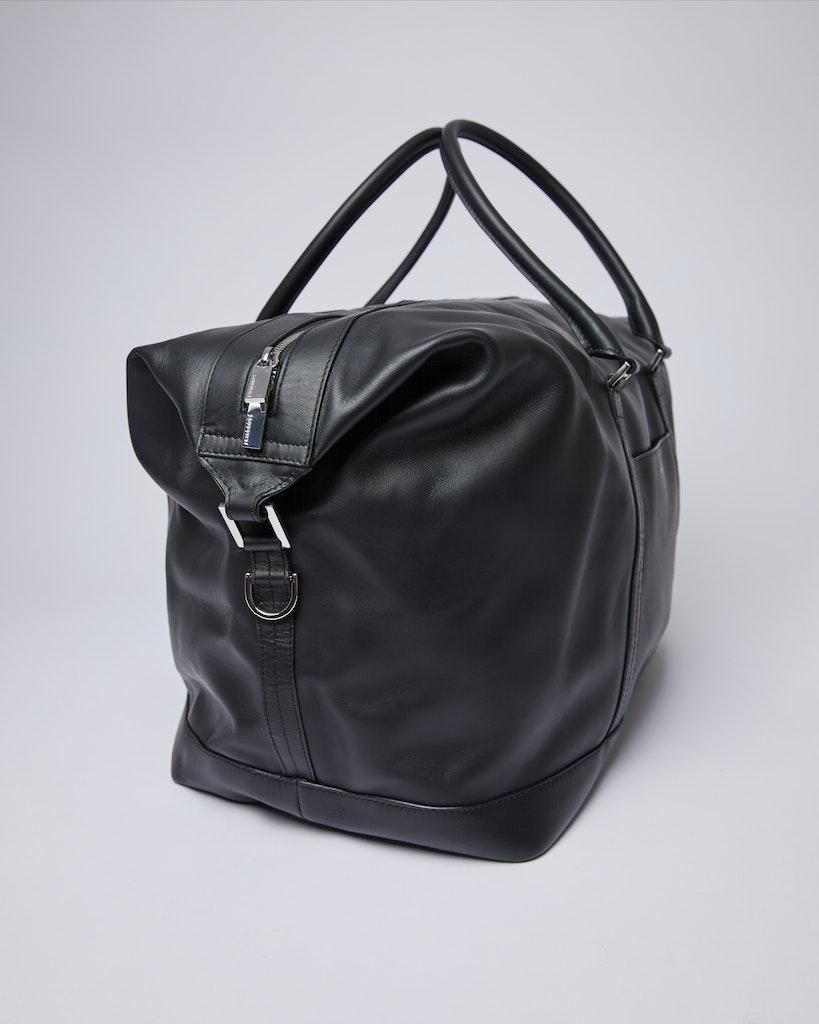 Sandqvist - Weekend Bag - Black - FRANS LEATHER 3