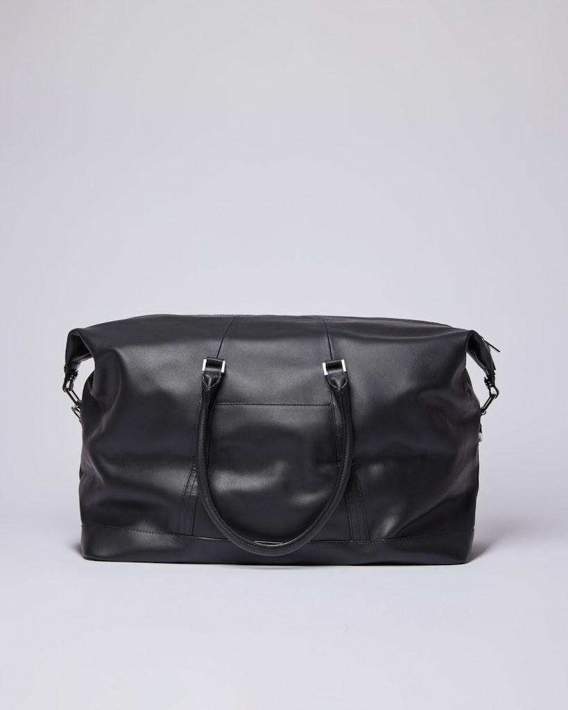 Sandqvist - Weekend Bag - Black - FRANS LEATHER 1
