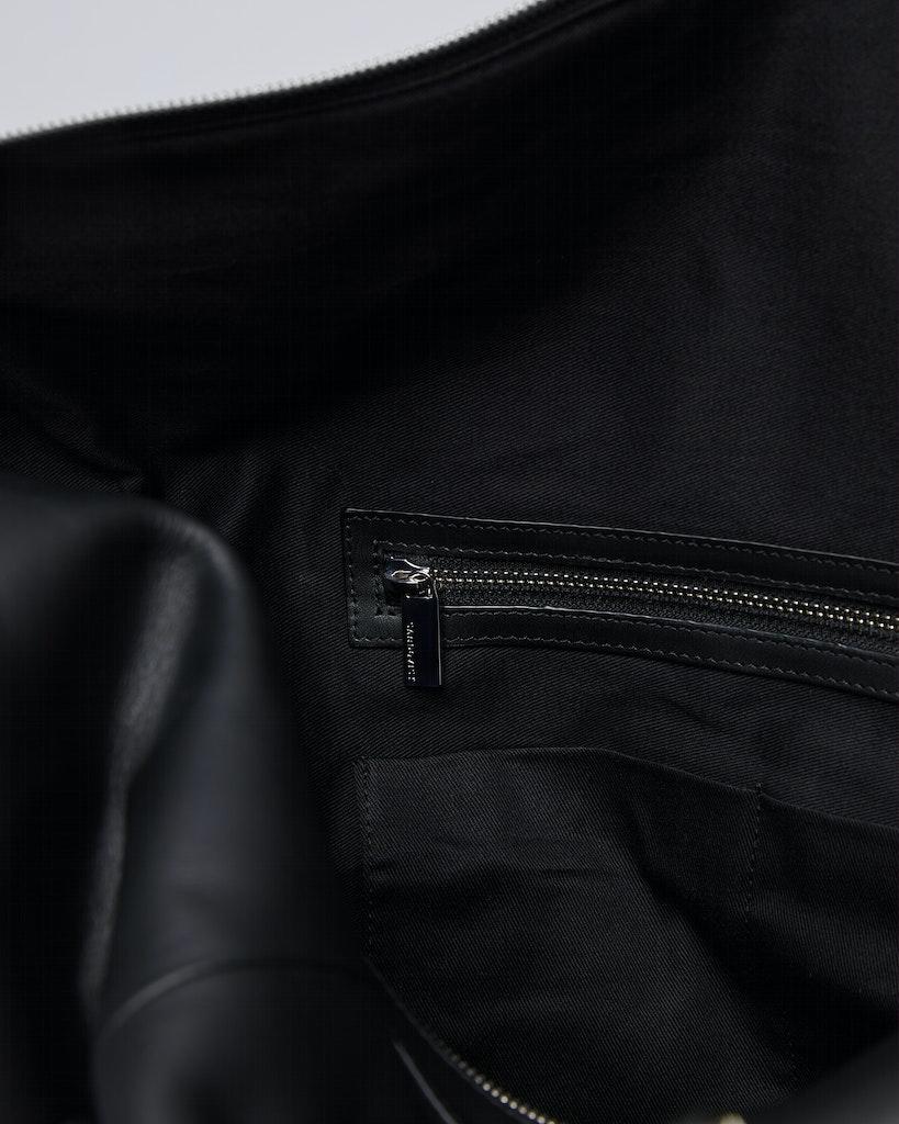 Sandqvist - Weekend Bag - Black - FRANS LEATHER 4