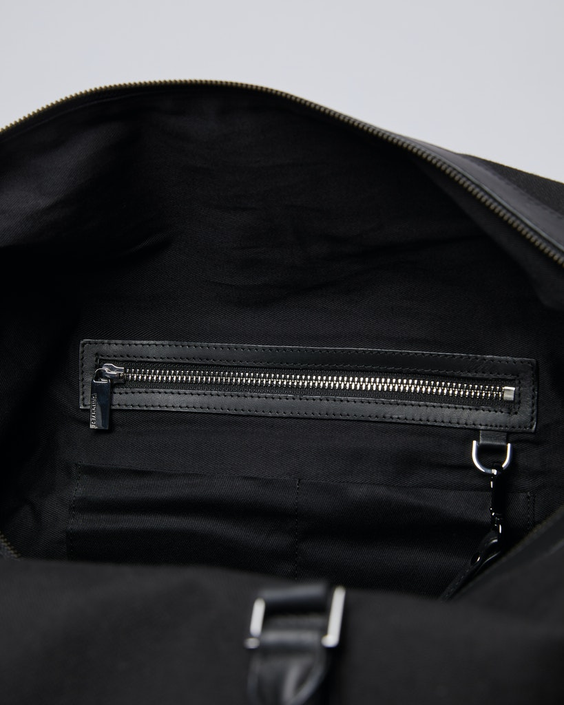 Sandqvist - Weekend Bag - Black - FRANS TWILL 4