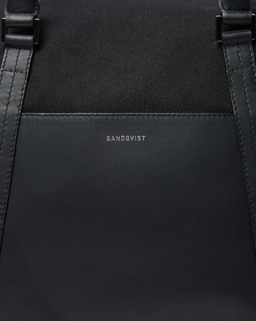 Sandqvist - Weekend Bag - Black - FRANS TWILL 1