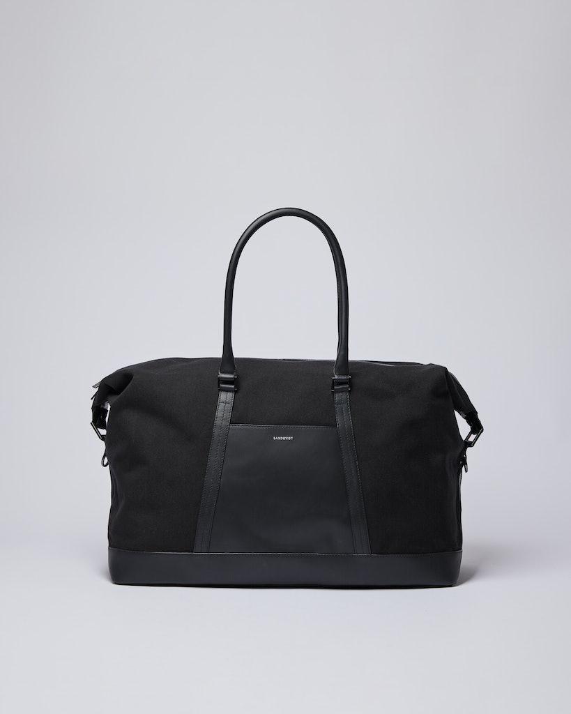 Sandqvist - Weekend Bag - Black - FRANS TWILL