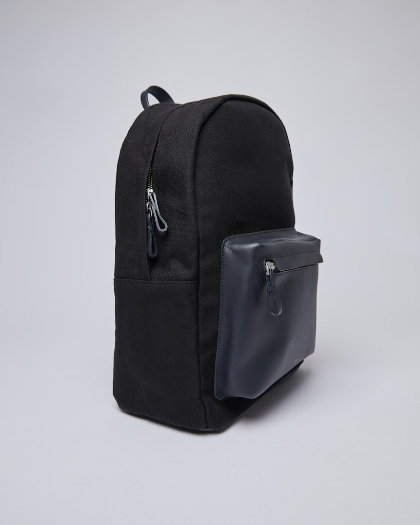Sandqvist - Backpack - Black - INGVAR TWILL 5